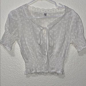 adorable milkmaid top
